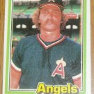 1981 MLB Donruss Dave Lemanczyk Angels Card #292