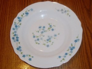 "Arcopal France 9"" Pasta/Soup Bowl Veronica Pattern"