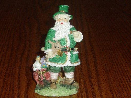Irish Father Christmas Figurine Christmas/Holiday Decor