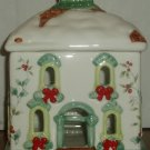 Pfaltzgraff Pierced House Holiday Light Winterberry Candle
