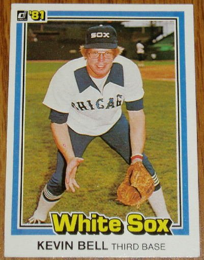 1981 MLB Donruss Kevin Bell Card #39 Chicago White Sox