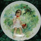 Limoges Turgot Paul Durand Marie-Ange Collector Plate
