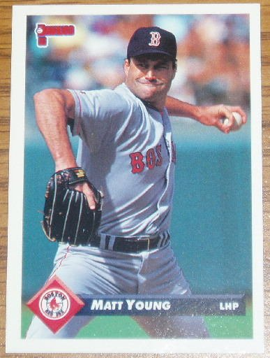 1993 MLB Donruss Series 2 #459 Matt Young Red Sox