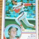 1983 MLB Topps Bill Almon Chicago White Sox Card #362