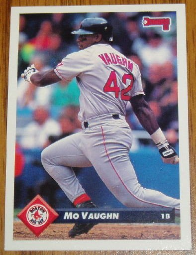 1993 MLB Donruss Series 2 #429 Mo Vaughn Red Sox