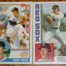 Lot of 2 MLB Topps John Tudor Cards #318, 601 1983 1984