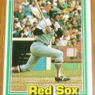 1981 MLB Donruss Carl Yastrzemski Card #94 Red Sox