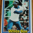 1981 MLB Donruss Thad Bosley Card #162 White Sox