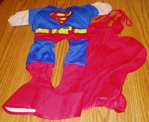 Justice League Superman Large Dog Costume Halloween