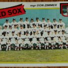 1980 MLB Topps Card #689 Topps Boston Red Sox Team