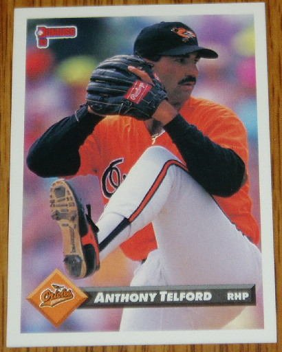 1993 MLB Donruss Series 2 #789 Anthony Telford Orioles