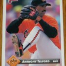 1993 MLB Donruss Series 2 #789 Anthony Telford Orioles