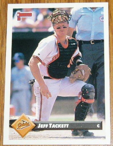 1993 MLB Donruss Series 2 #529 Jeff Tackett Orioles