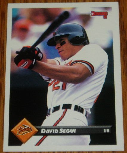1993 MLB Donruss Series 2 #397 David Segui Orioles