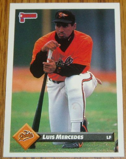 1993 MLB Donruss Series 2 #645 Luis Mercedes Orioles