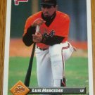 1993 MLB Donruss Series 2 #645 Luis Mercedes Orioles