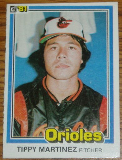 1981 MLB Donruss Tippy Martinez Orioles Card #354