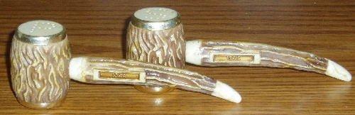 Souvenir Iowa Pipe Salt Pepper Shaker Set