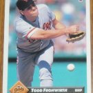 1993 MLB Donruss Series 2 Card #513  Todd Frohwirth