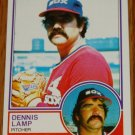 1983 MLB Topps Dennis Lamp Chicago White Sox Card #434