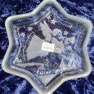 Mikasa Star Shaped Christmas Angel Dish Holiday Decor