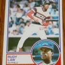 1983 MLB Topps Rudy Law Chicago White Sox Card #514