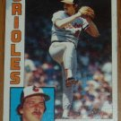 1984 MLB Topps Card #295 Mike Flanagan Baltimore Orioles