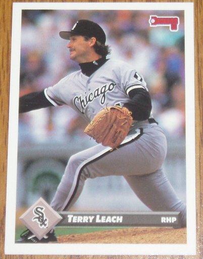 1993 MLB Donruss Series 2 #720 Terry Leach White Sox