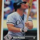 1993 MLB Donruss Series 2 #491 Dan Pasqua White Sox