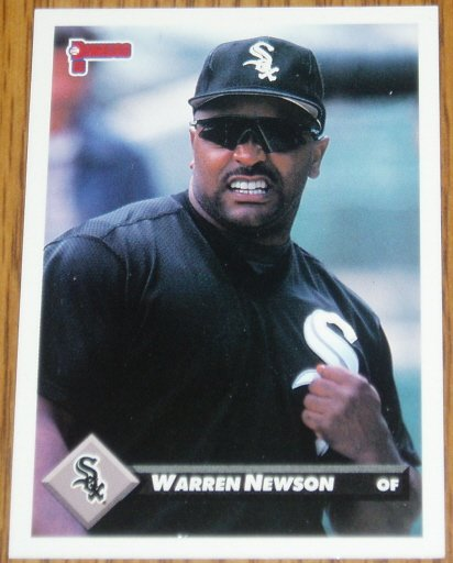1993 MLB Donruss Series 2 #463 Warren Newson White Sox