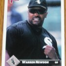 1993 MLB Donruss Series 2 #463 Warren Newson White Sox