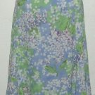 NWT Sag Harbor Light Purple Floral Skirt Size 18
