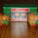 House of Lloyd Pumpkin Salt/Pepper Shakers Fall Halloween