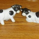 Lot of 3 Cow Salt and Pepper Shaker Sets
