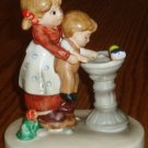 Lefton Mother and Child Figurine Hand Painted #07820