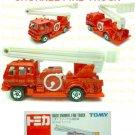 Tomy Tomica Diecast : #68 Isuzu Snorkel Fire Truck