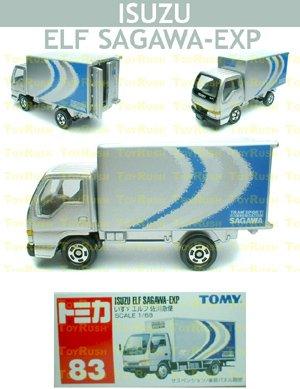 Tomy Tomica Diecast : #83 Isuzu ELF Sagawa-Exp