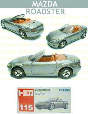 Tomy Tomica Diecast : #115 Mazda Roadster