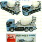 Tomy Tomica Diecast : #53 Nissan Diesel Quon Mixer Car
