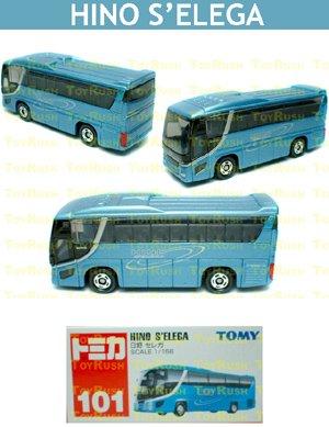 Tomy Tomica Diecast : #101 Hino S'elega Bus