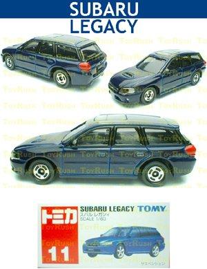 Tomy Tomica Diecast : #11 Subaru Legacy (Blue)