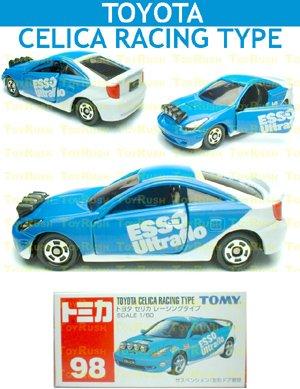 Tomy Tomica Diecast : #98 Toyota Celica Racing Type