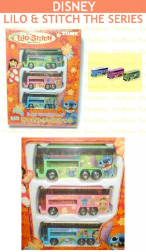 Tomy Tomica Disney Edition Box Set : Disney Lilo & Stitch The Series