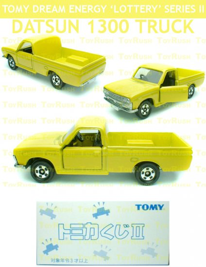 Tomy Tomica Lottery Series II : #L2-11 Datsun 1300 Truck