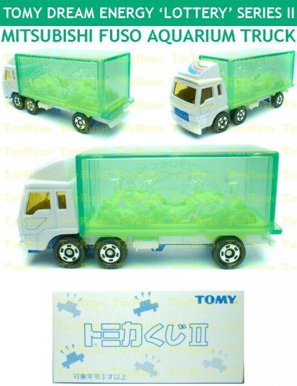 Tomy Tomica Lottery Series II : #L2-10 Mitsubishi Fuso Aquarium Truck