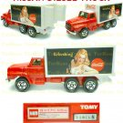 Tomy Tomica Lottery Series VIII : #L8-09 Coca Cola Nissan Diesel Truck