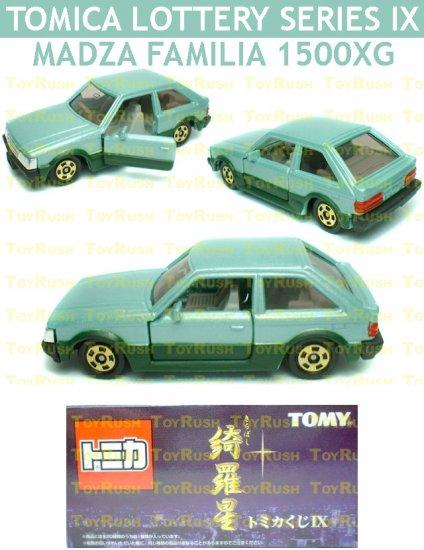 Tomy Tomica Lottery Series IX : #L9-15 Madza Familia 1500XG (Last Piece)