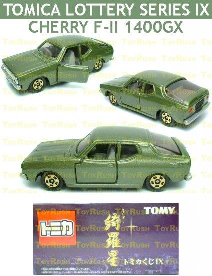 Tomy Tomica Lottery Series IX : #L9-20 Cherry F-II 1400GX