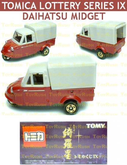Tomy Tomica Lottery Series IX : #L9-03 Daihatsu Midget (Last Piece)