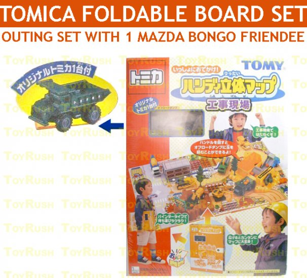 Tomy Tomica Box Set : Construction Site Set with Dump Truck
